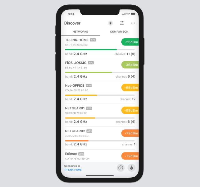 iOS Discover mode