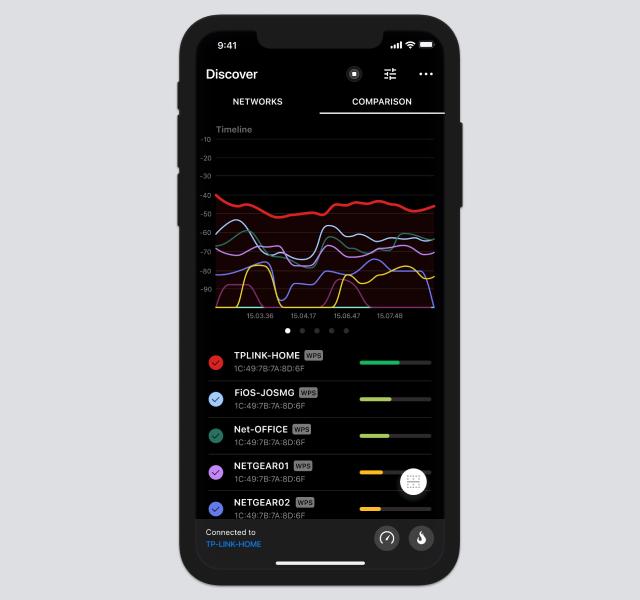 NetSpot iOS