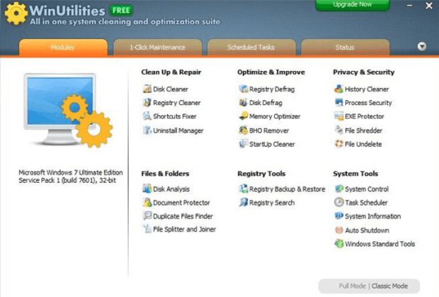 Advanced Win Utilities Free