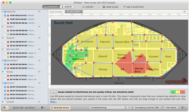 Wireless Network Troubleshooting with NetSpot