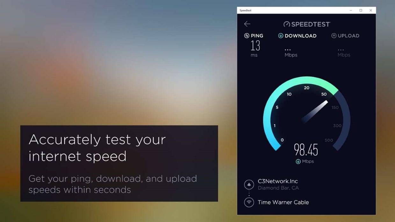 Netspot Free Internet Speed Test Check