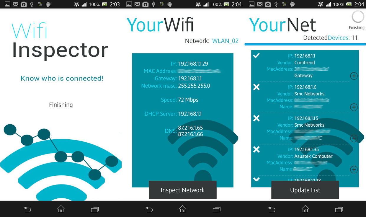 Find The Best Wifi App For Android And Get Most Of Your Has Uploaded 10492 Amplifier Pictures Their This Is Useful Finding Rogue Machines On Network Or If Theres A Device But We Cant Figure Out What Its Address Inspector Might