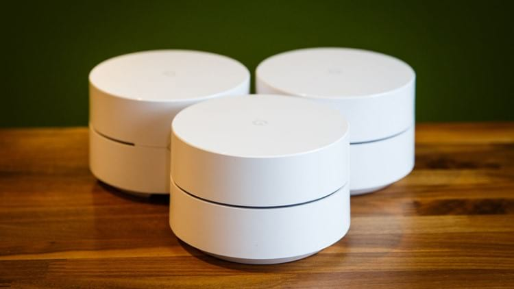 Google WiFi mesh networks